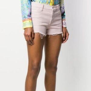 J Brand Pink Distressed Denim Shorts